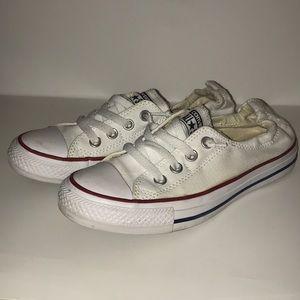 Chuck Taylor All Star Shoreline Slip White. size 7